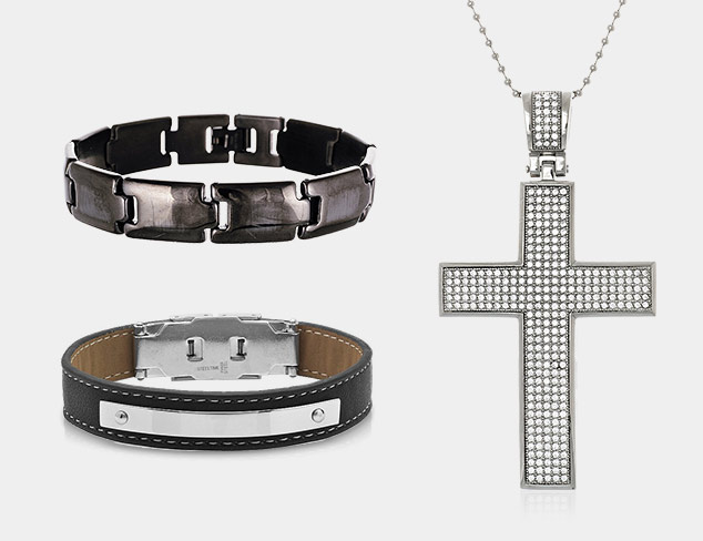Edgy Jewelry feat. Steeltime at MyHabit