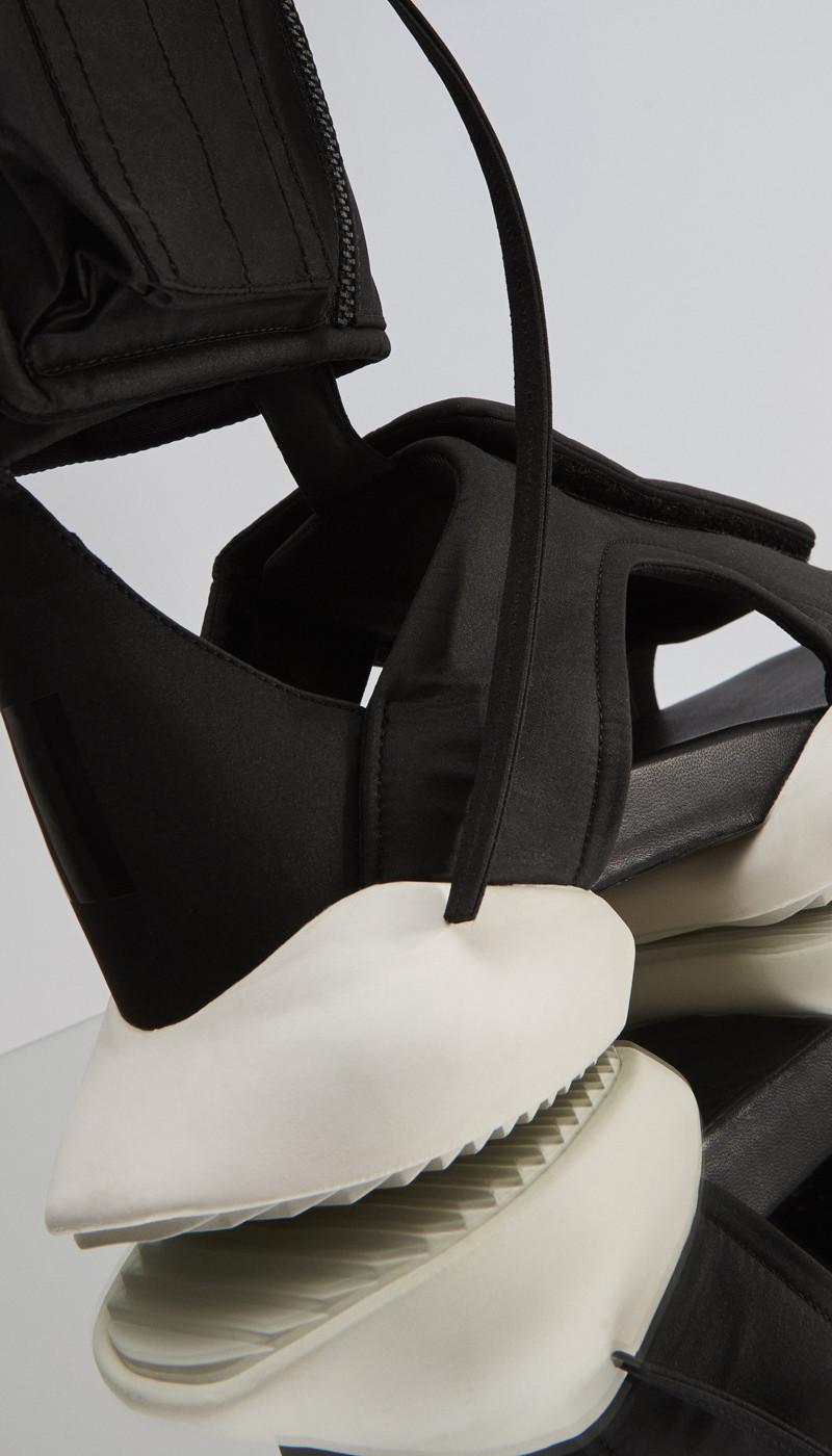 Rick Owens x adidas Velcro Strap Cargo Sandals_2