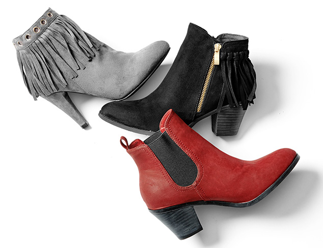Wear Now Ankle Boots at MyHabit