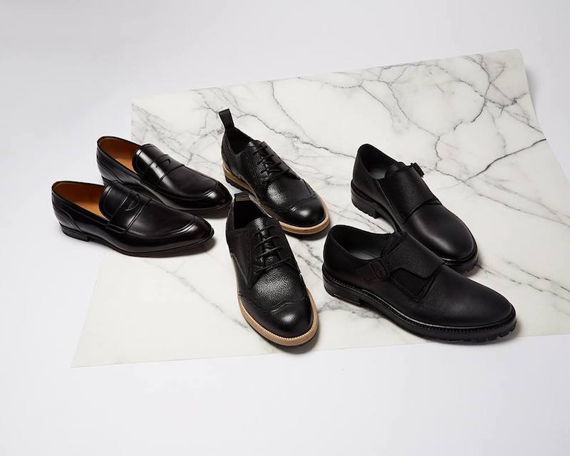 Balenciaga Grained-leather Derby Shoes