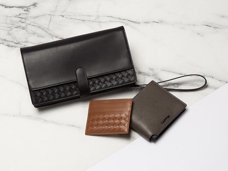 Bottega Veneta Intrecciato Leather Travel Pouch