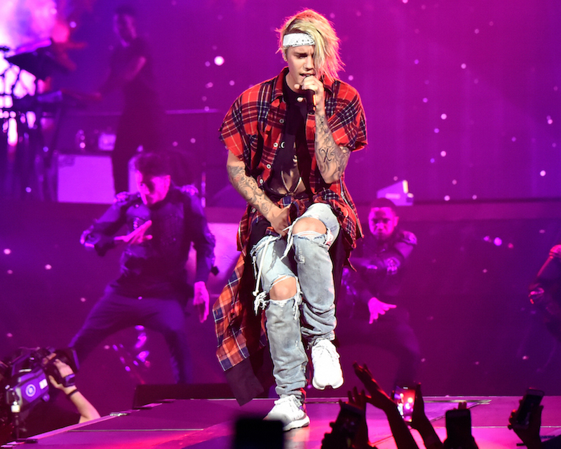Purpose Tour XO Barneys New York Brushed Flannel Sleeveless Shirt