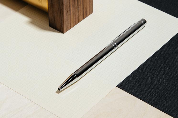 Craft Design Technology Chrome Ball Point Pen