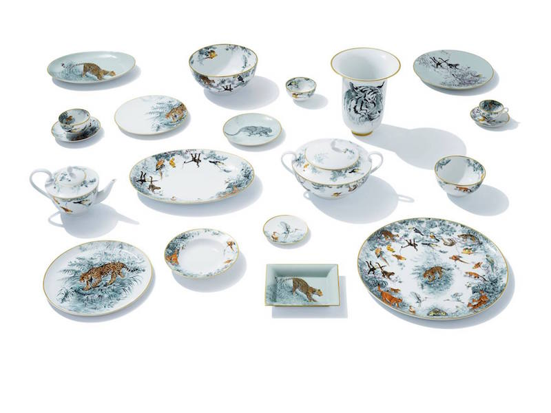 Hermès of Paris Inc. Tableware