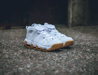 "Shoe of the Day // Nike Air More Uptempo ""White Gum"""