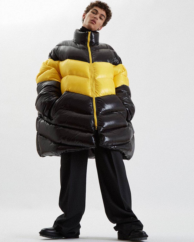 Raf Simons Oversized Down Quilted Jacket