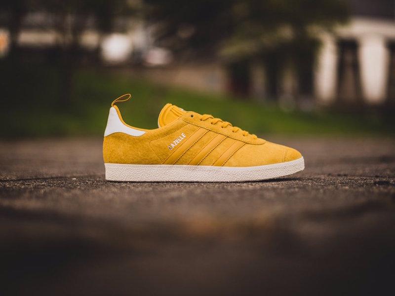 adidas Originals Gazelle Ostrich Nomad Yellow