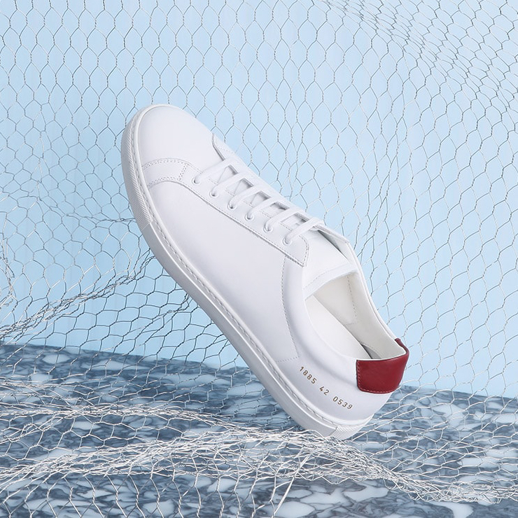 Common Projects Achillies Retro Leather Trainers