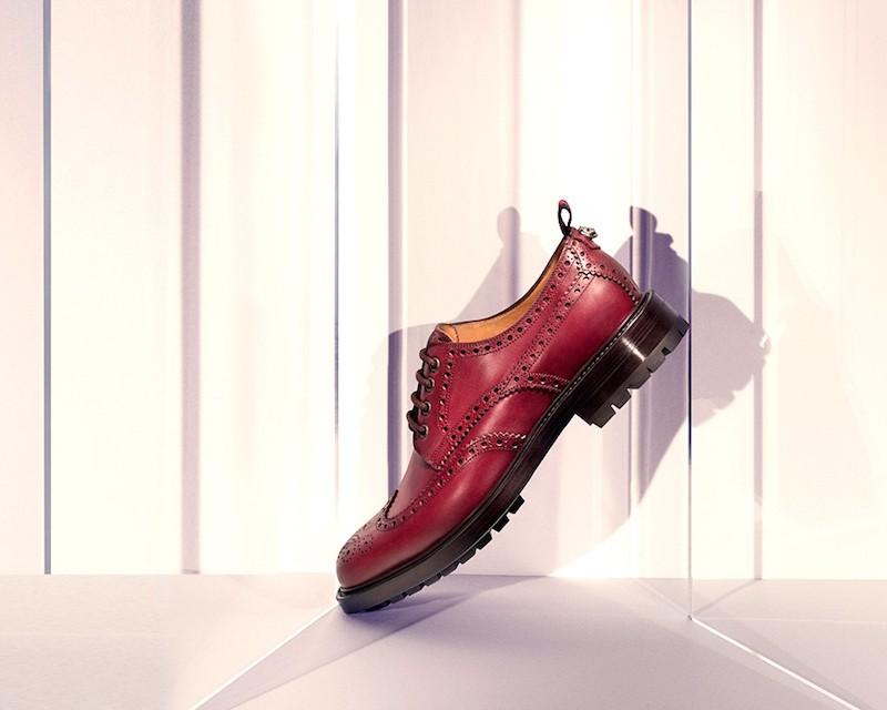 Gucci Darko Leather Brogues