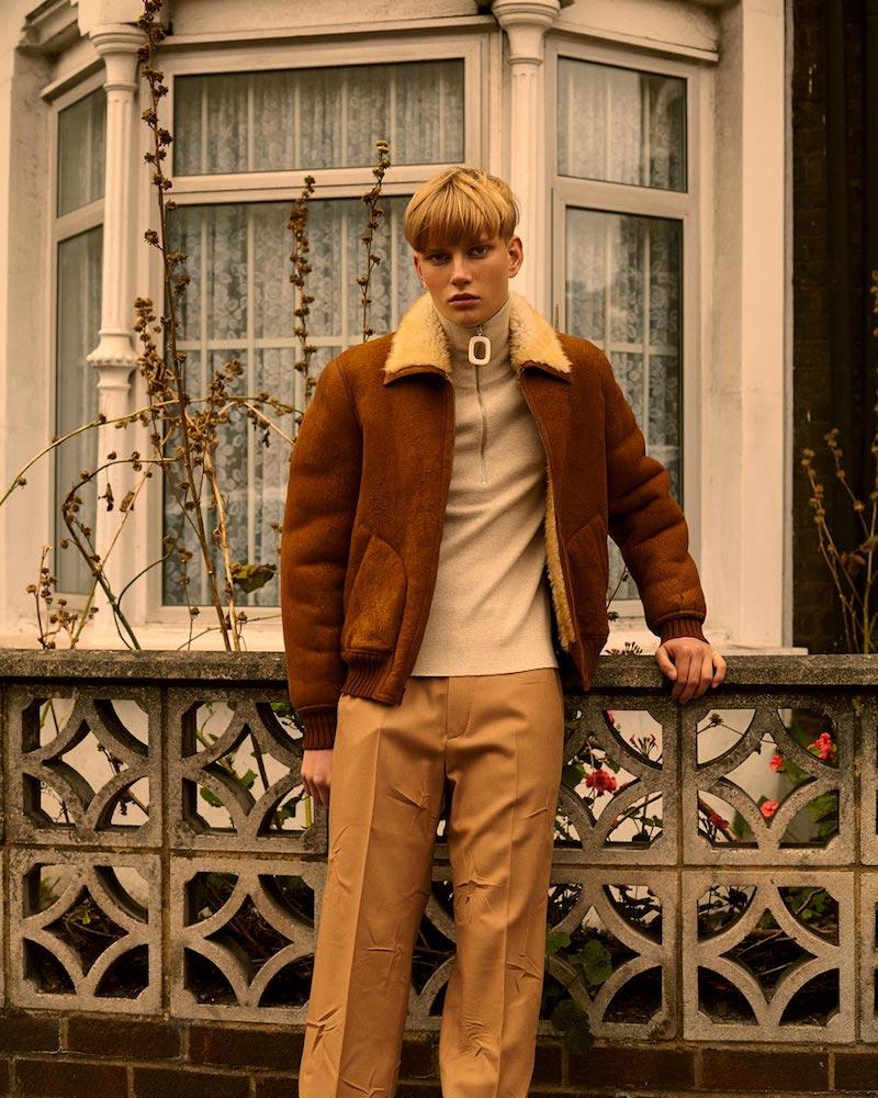 Saint Laurent Vintage Shearling Leather Jacket