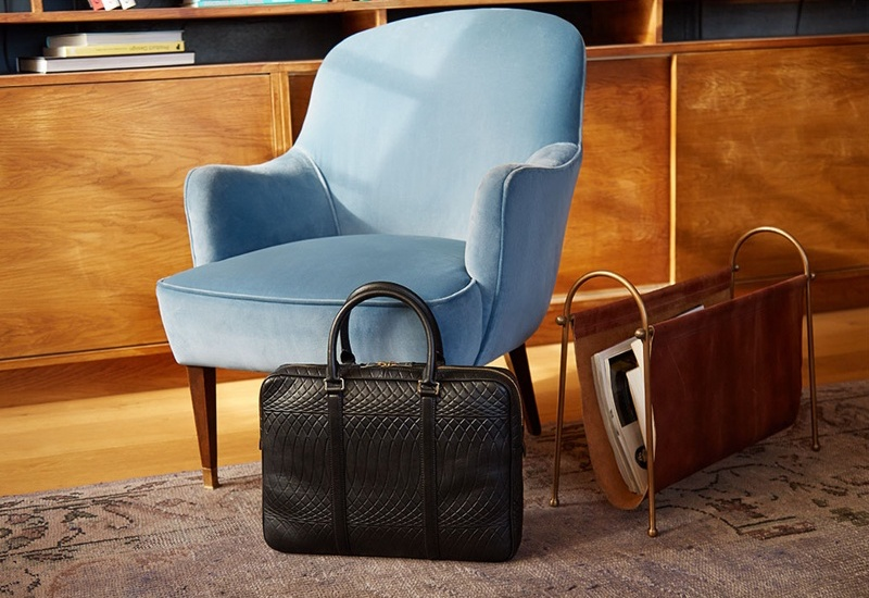Paul Smith Number 9 Leather Briefcase