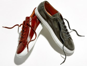 BNY Sole Series // Common Projects Achilles Leather Low-Top Sneakers
