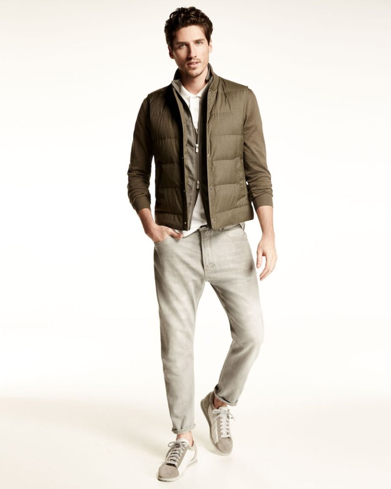 Brunello Cucinelli Relaxed-Fit Washed-Denim Jeans