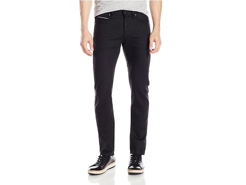 Naked & Famous Denim Superskinnyguy Solid Black Selvedge Jeans