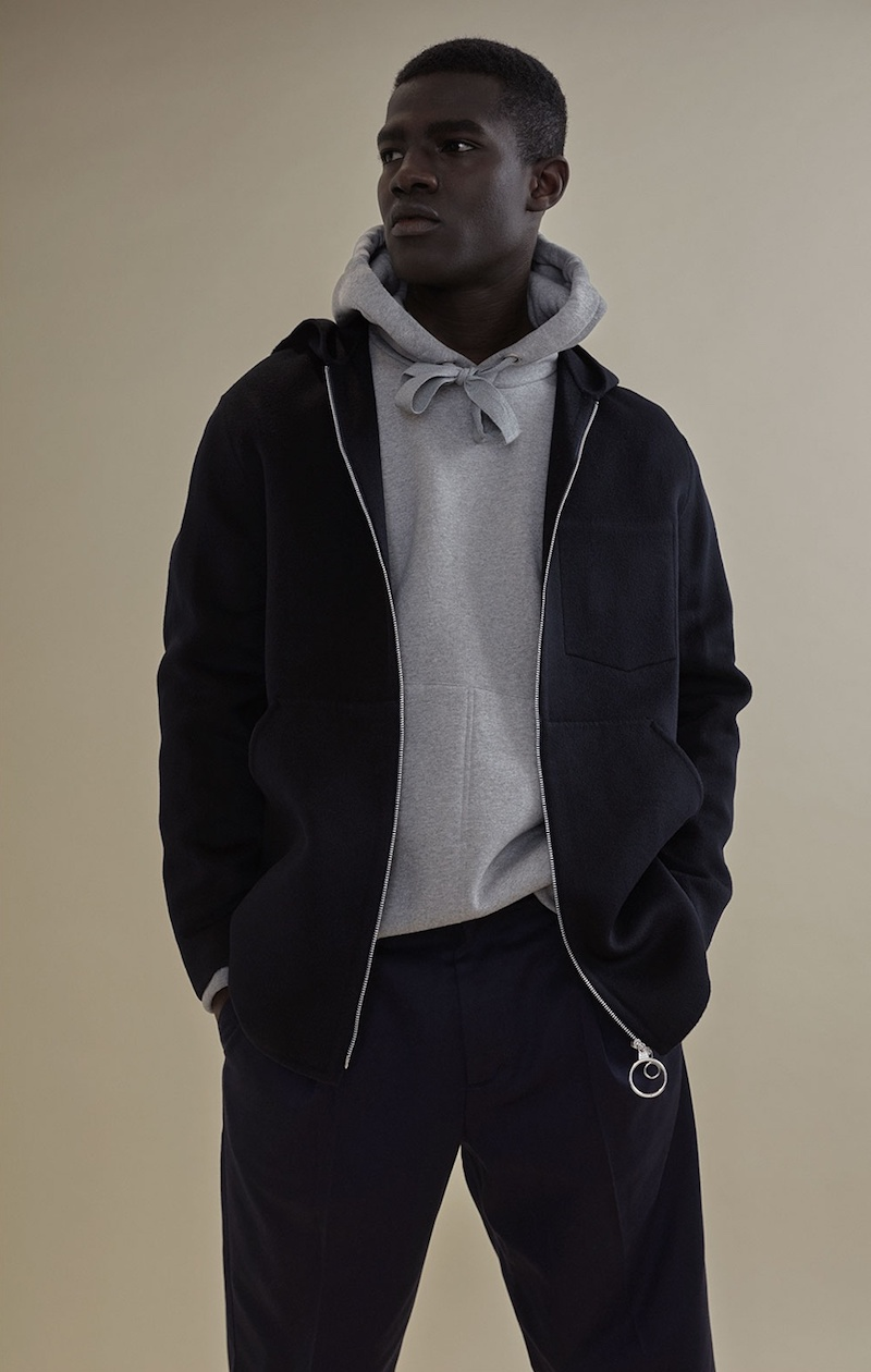 Acne Studios Maua Wool And Cashmere-Blend Jacket
