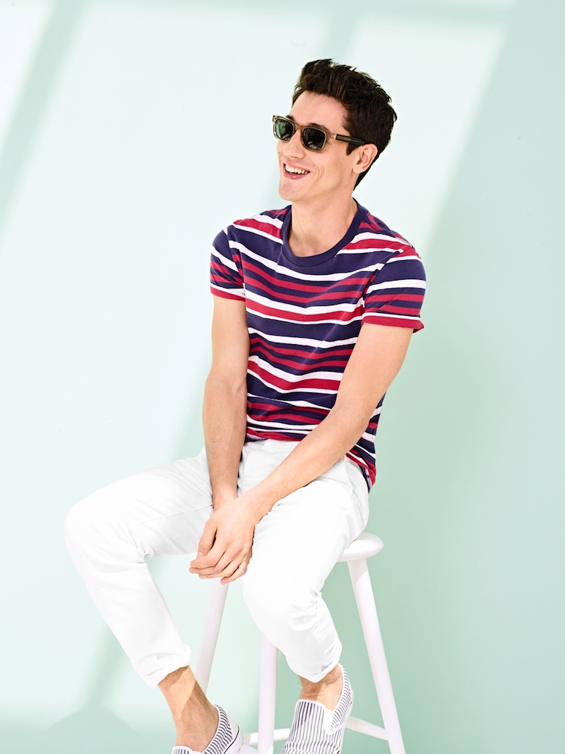 J.Crew Twill Chino In 770 Straight Fit