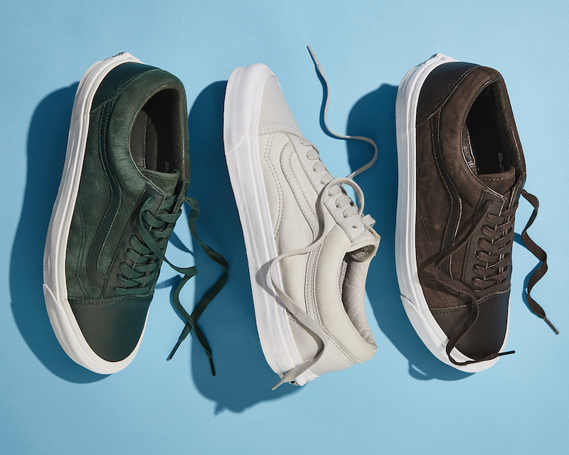 BNY Sole Series x Vans OG Old Skool Nubuck & Leather Sneakers