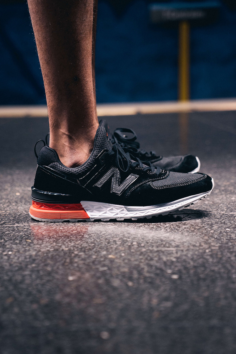 New Balance 574S Sneakers in Black