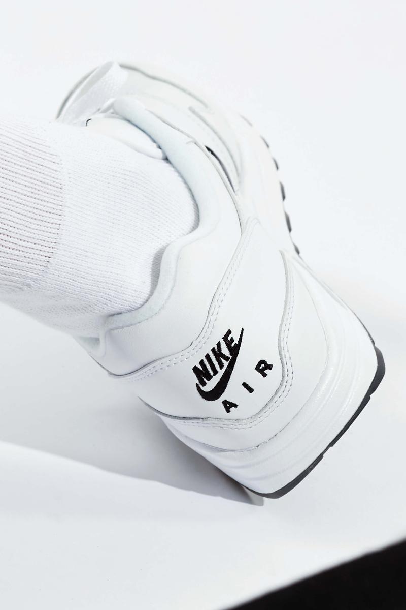 Nike Air Max 1 Premium SC Jewel Swoosh in White Black