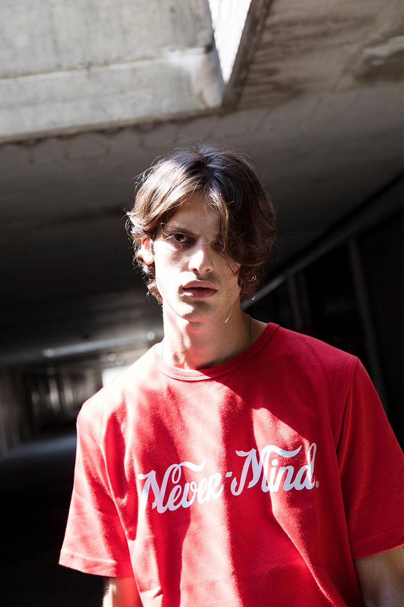 Études Never Mind Printed Cotton Jersey T-Shirt