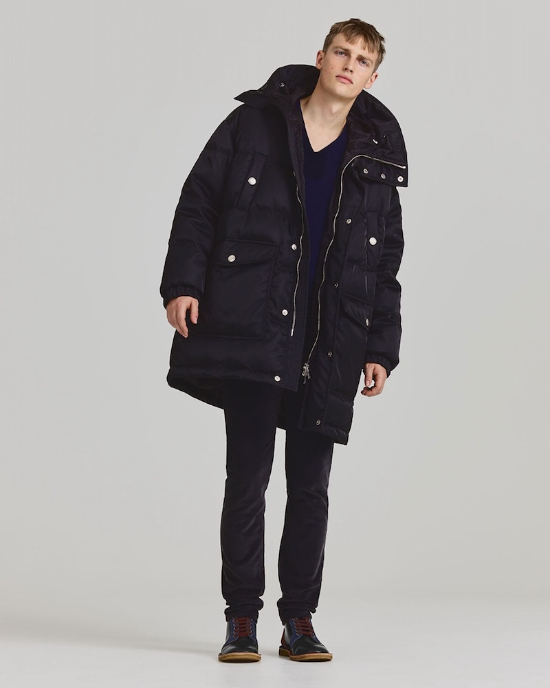 Prada Patch-Pocket Quilted Coat