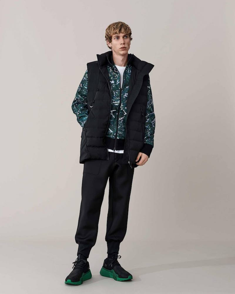 Y-3 High-Neck Quilted Down Gilet