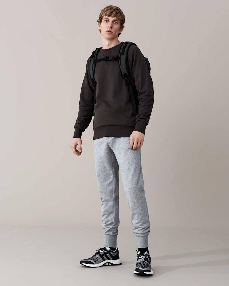Y-3 Logo-Print Cotton-Blend Sweatshirt