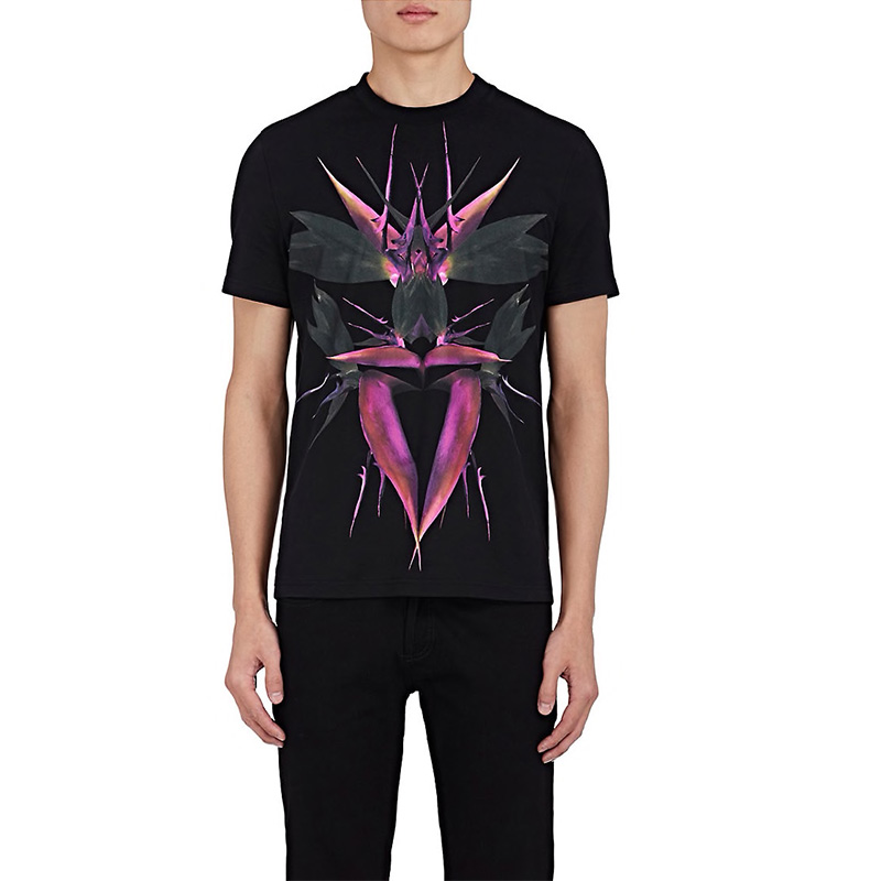 Givenchy Bird-Of-Paradise Cotton Cuban-Fit T-Shirt