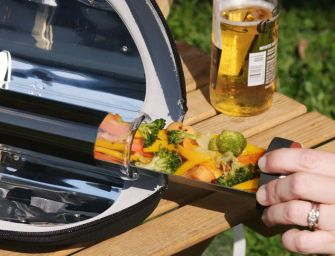 GoSun Go: Portable Solar Cookers to Boil Water and Cook Meals