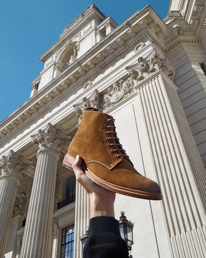 Grenson Fergal Suede Ankle Boots