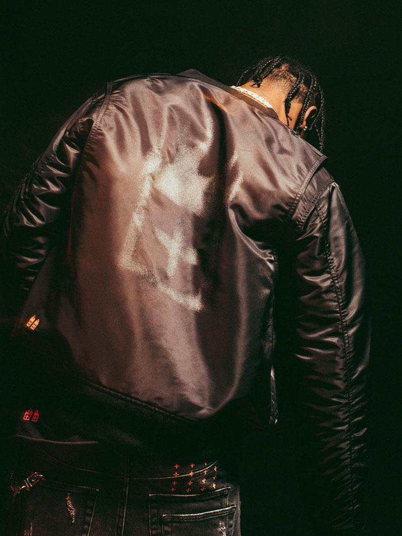 Ksubi x Travis Scott Higher Than Heaven Insulated Bomber Jacket
