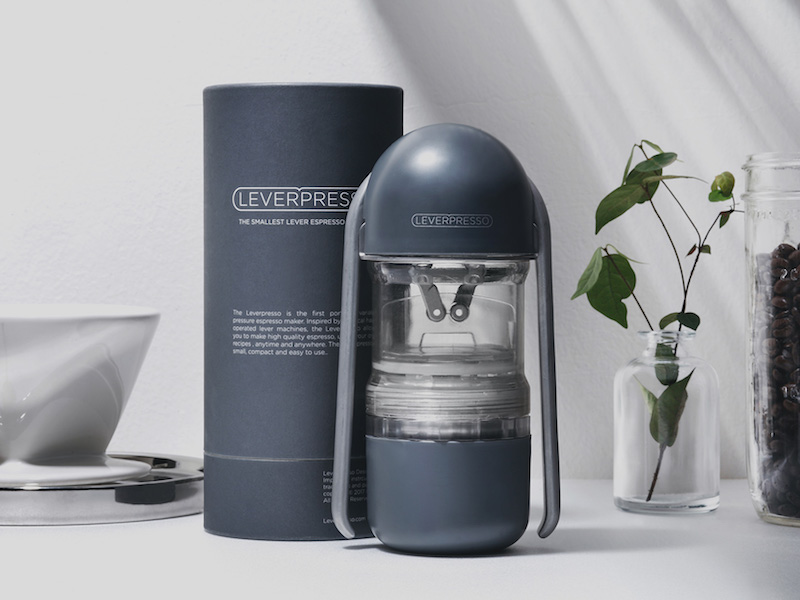 LEVERPRESSO: The Most Portable Lever Espresso Maker