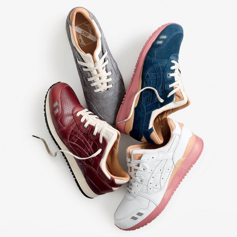 Packer x J.Crew x ASICS Tiger 1907 Collection