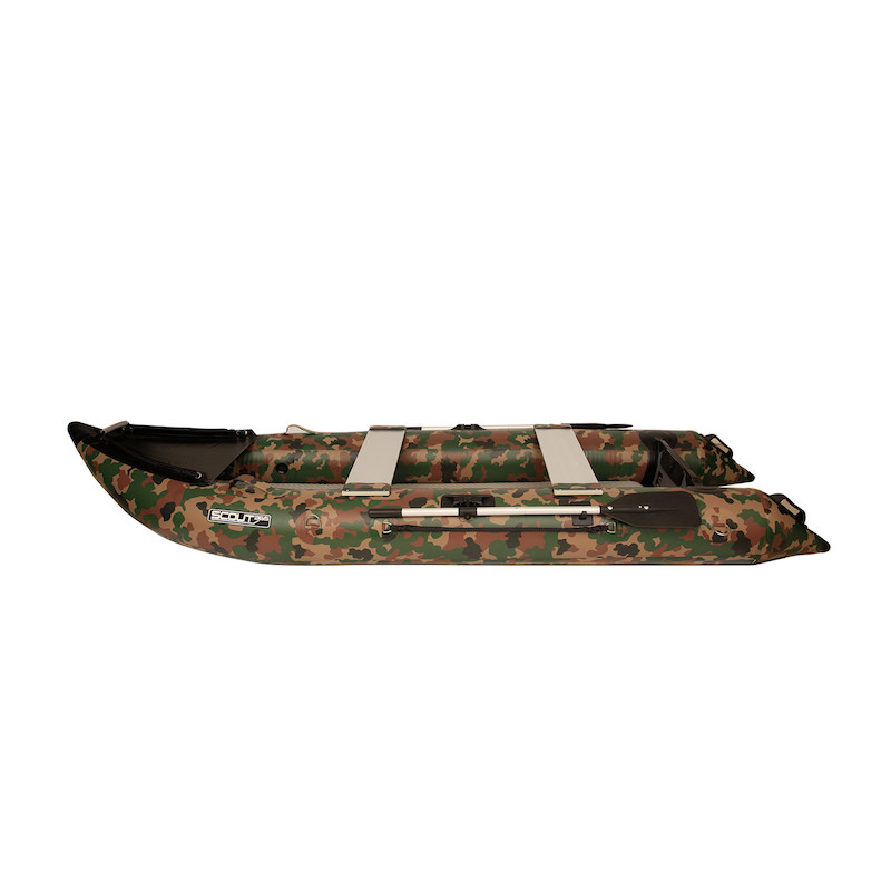 Scout Inflatables Scout365 Portable Inflatable Boat Camouflage