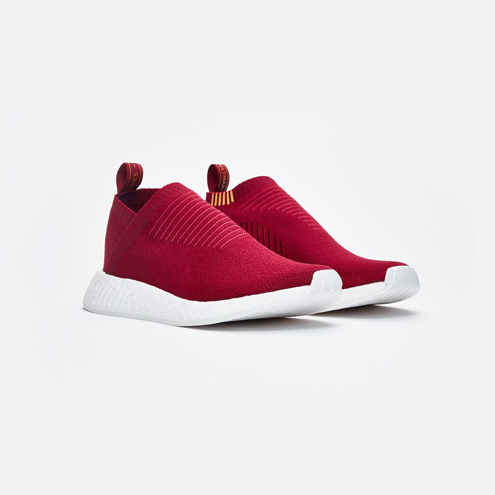 """Sneakersnstuff Exclusive adidas Originals NMD CS2 PK """"Class of 99"""" in Burgundy"""