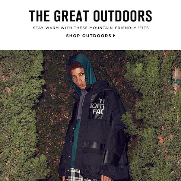The Great Outdoors: Fall/Winter 2017 Mountain-Friendly Men's Outfits