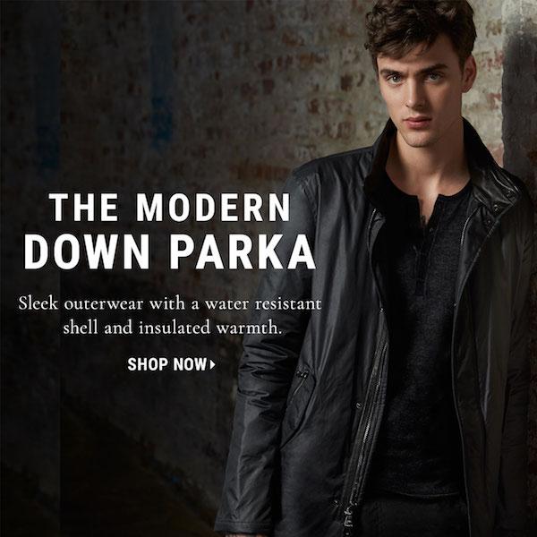 John Varvatos The New Modern Down Parka