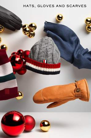 Hats, gloves and scarves