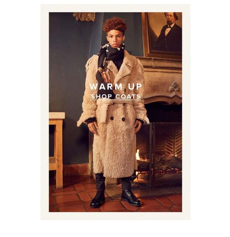 Warm Up. Shop Outerwear.