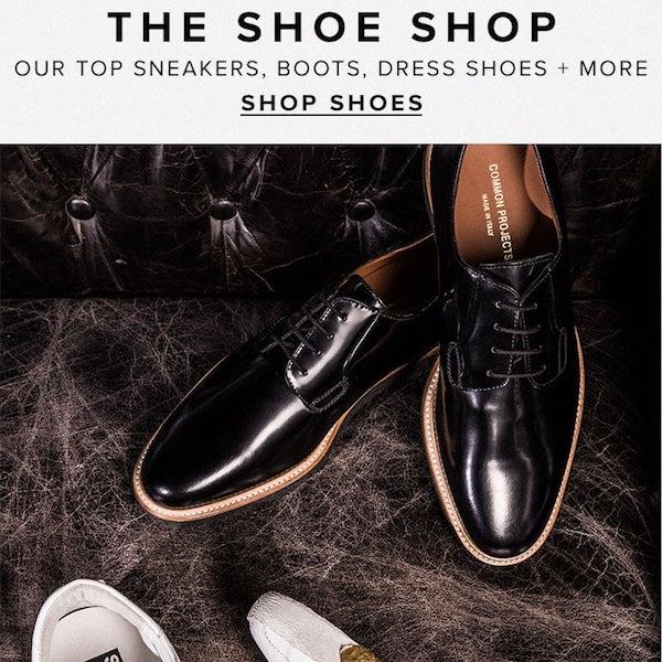 REVOLVEman Fall 2017 The Shoe Shop