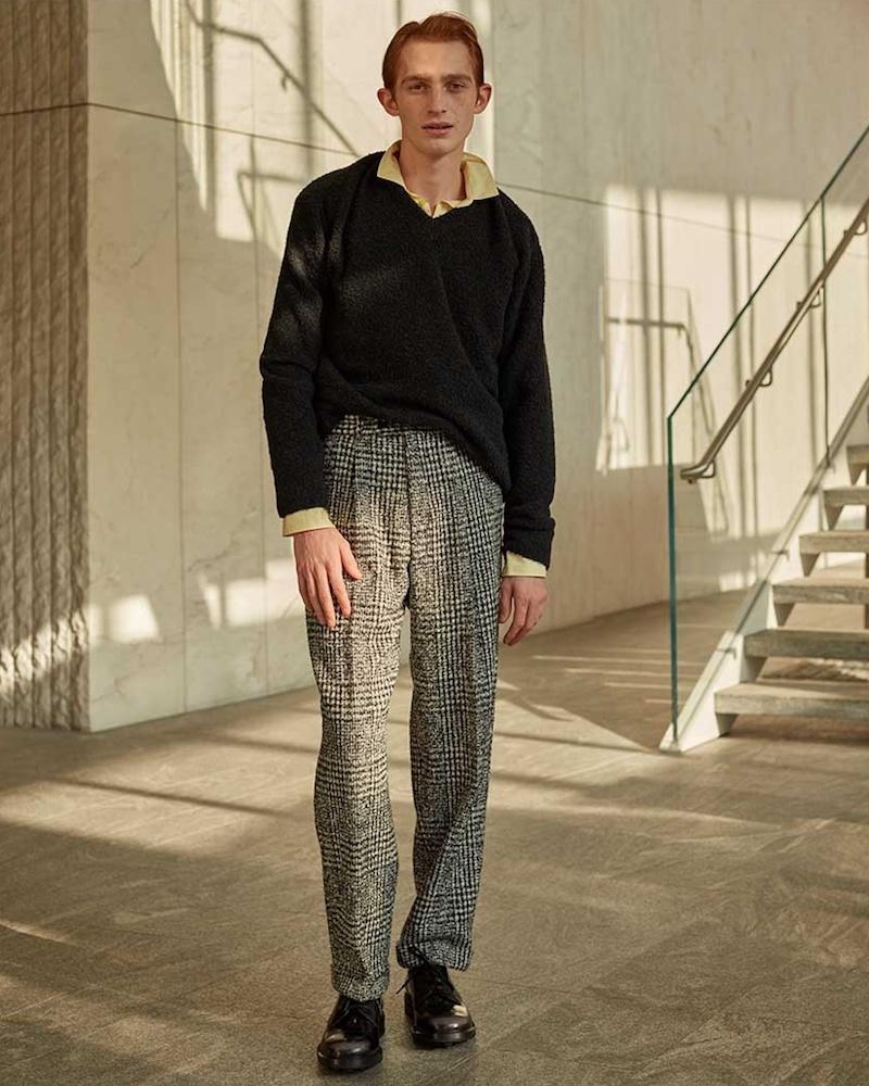 Stella McCartney Oversized Boiled Wool-Blend Sweater