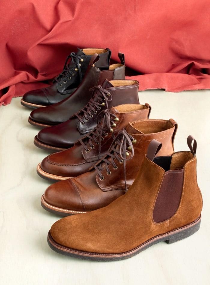 J.Crew Kenton Suede Chelsea Boots