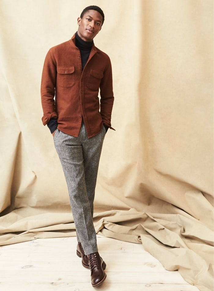 J.Crew Ludlow Slim-Fit Pant In English Herringbone Wool