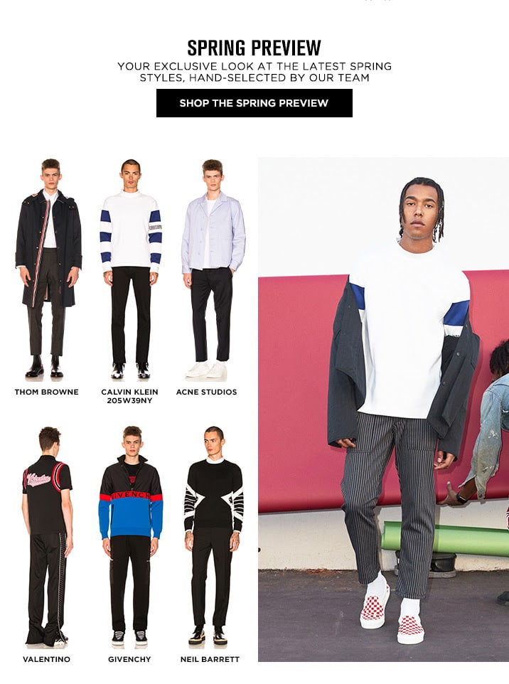 Spring Preview - Shop The Spring Preview