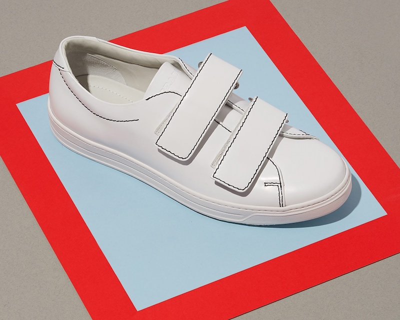 Prada Low-Top Velcro Trainers