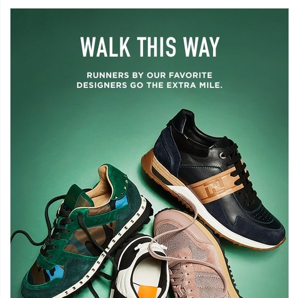 Walk This Ways: Men's Sneakers