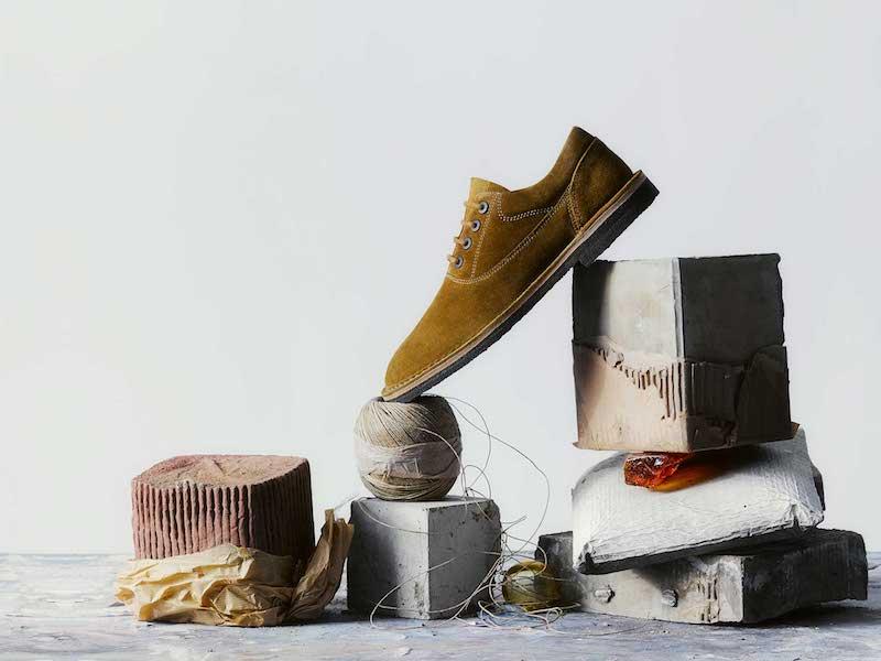 Lanvin Suede Oxford Desert Boot