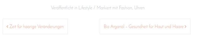 Neues Blogdesign