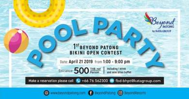 The 1st Beyond Patong Pool Party
