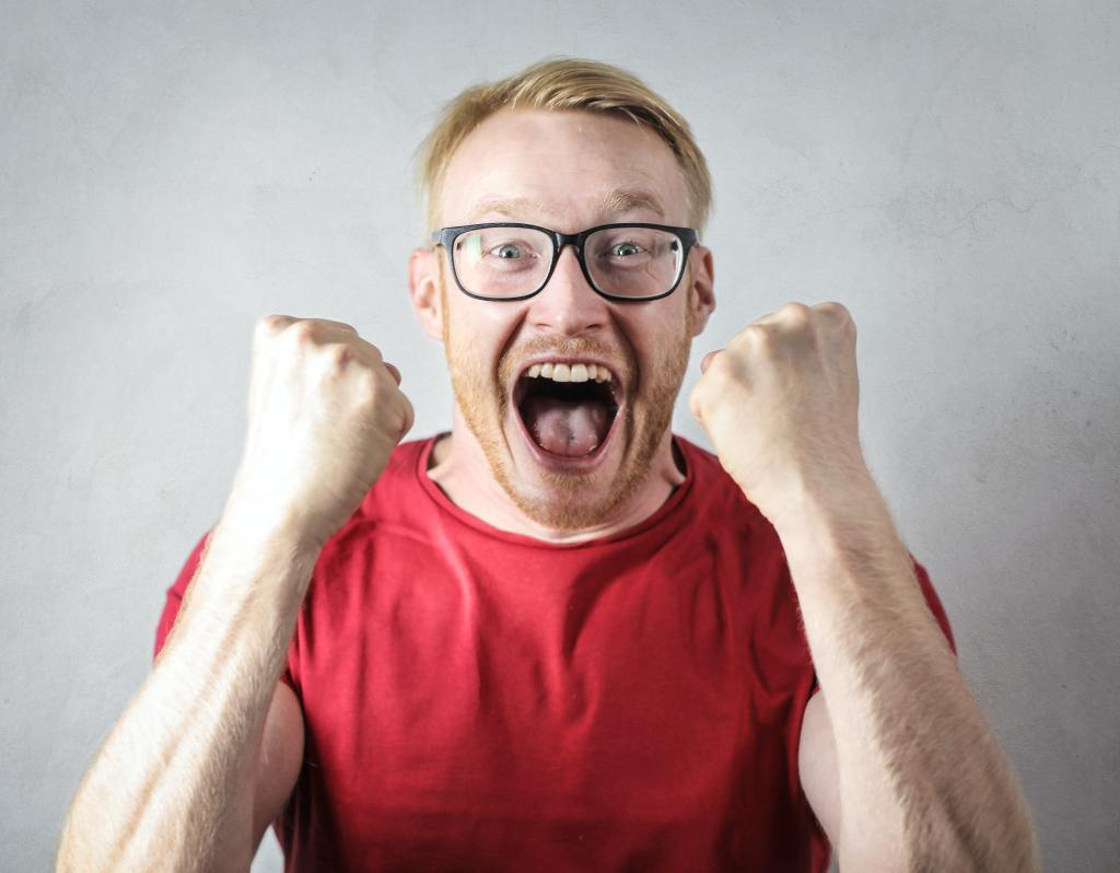Avoid screaming at your mate in your marriage